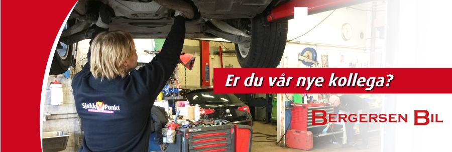 Bergersen Bil og Karosseri as søker bilmekaniker